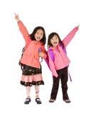 女孩学校 免版税库存照片