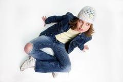 女孩少年 免版税库存照片