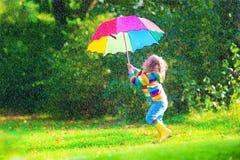 女孩少许伞 库存图片