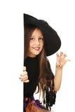 女孩巫婆 免版税库存图片