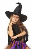 女孩巫婆 免版税库存照片
