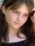 女孩年轻人 免版税库存图片