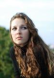 女孩年轻人 免版税图库摄影