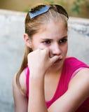 女孩年轻人 库存照片