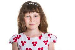 女孩愉快的微笑的年轻人 免版税库存图片