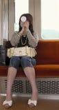 女孩日语 免版税库存图片