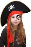 女孩海盗 免版税库存图片