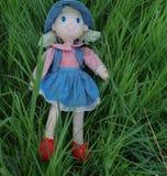 女孩玩偶 免版税库存图片