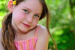 女孩甜年轻人 免版税库存图片