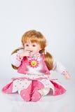 女孩的玩偶玩具 图库摄影