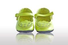 女孩的鞋子。 图库摄影