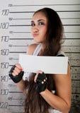 女孩监狱 免版税库存图片