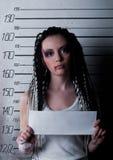 女孩监狱 库存图片