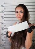 女孩监狱 库存照片