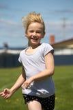 女孩种族体育运动 库存图片
