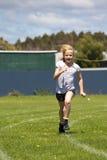 女孩种族连续体育运动 库存图片