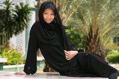 女孩穆斯林 免版税图库摄影