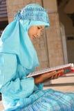 女孩穆斯林 免版税库存图片