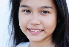 女孩纵向俏丽的泰国 免版税图库摄影