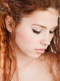 女孩纵向年轻人 图库摄影