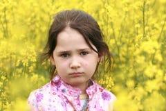 女孩纵向 图库摄影