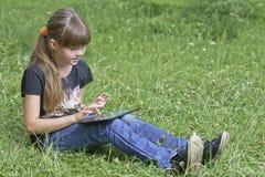 女孩纵向 免版税库存图片