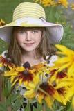女孩纵向 免版税图库摄影