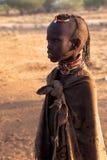 女孩肯尼亚turkana 免版税图库摄影