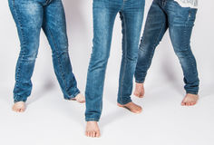 女孩腿 免版税图库摄影
