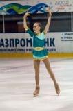 女孩花样滑冰运动员, 库存图片