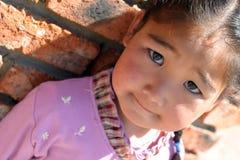 女孩蒙古语 免版税库存图片