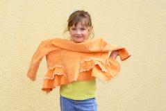 女孩衣物时尚 免版税图库摄影