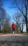女孩赛跑者 免版税库存图片