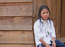 女孩越南语 库存照片
