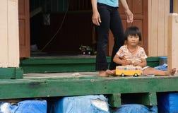 女孩越南语 免版税库存图片