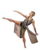 女孩跳舞 免版税库存照片