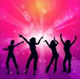 女孩跳舞 库存照片