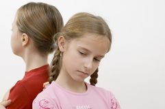 女孩问题 免版税库存图片