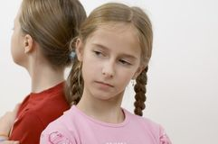 女孩问题 免版税图库摄影