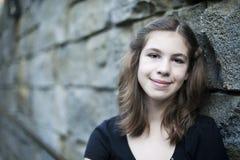 女孩青少年的年轻人 免版税库存图片
