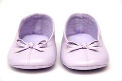 女孩鞋子 免版税库存图片