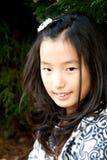 女孩韩文 免版税库存照片