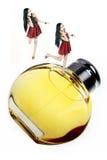 女孩香水 免版税图库摄影