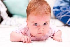 女孩婴儿粉红色 库存图片