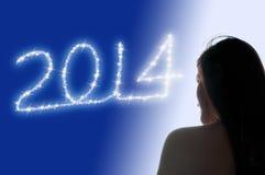 2014年女孩 免版税库存照片