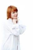 女孩portret年轻人 免版税图库摄影
