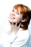 女孩portret年轻人 免版税库存图片