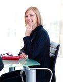女实业家会议开会 免版税库存照片