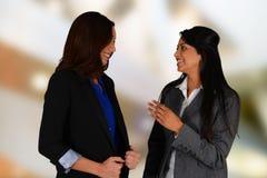女实业家会议 免版税库存图片