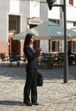 女实业家城市 免版税库存照片